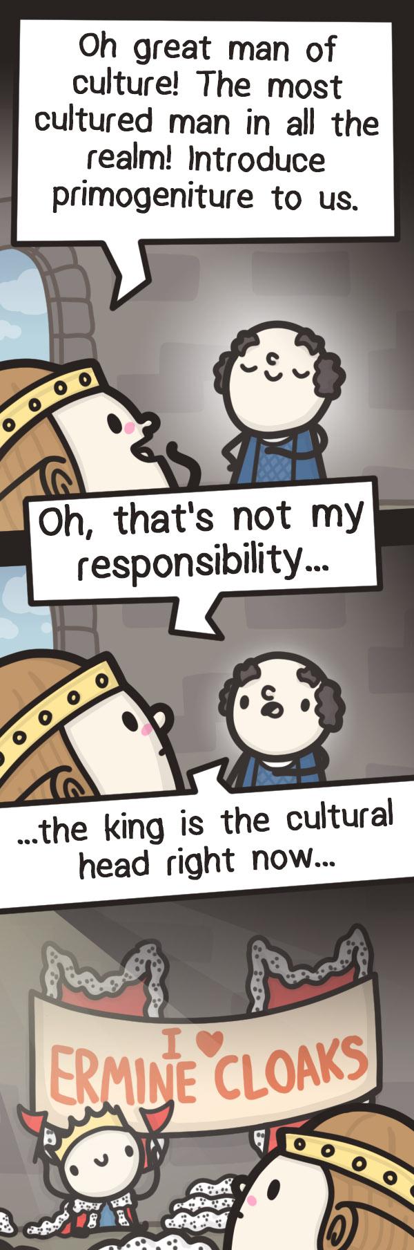 Crusader Kings 3 - Cultural fascination