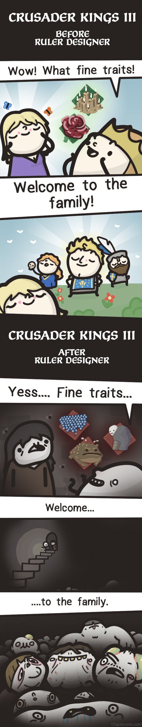 Crusader Kings 3 - Monster factory