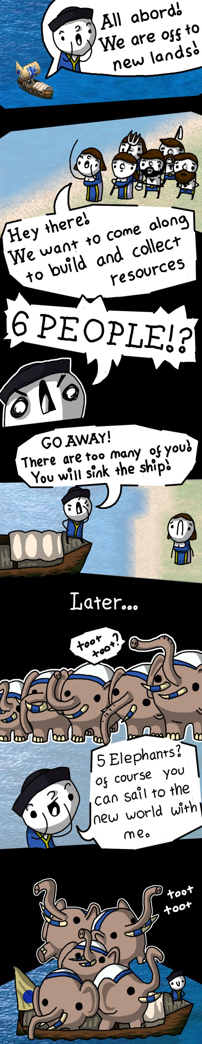 Age of Empires 2 - About Boats