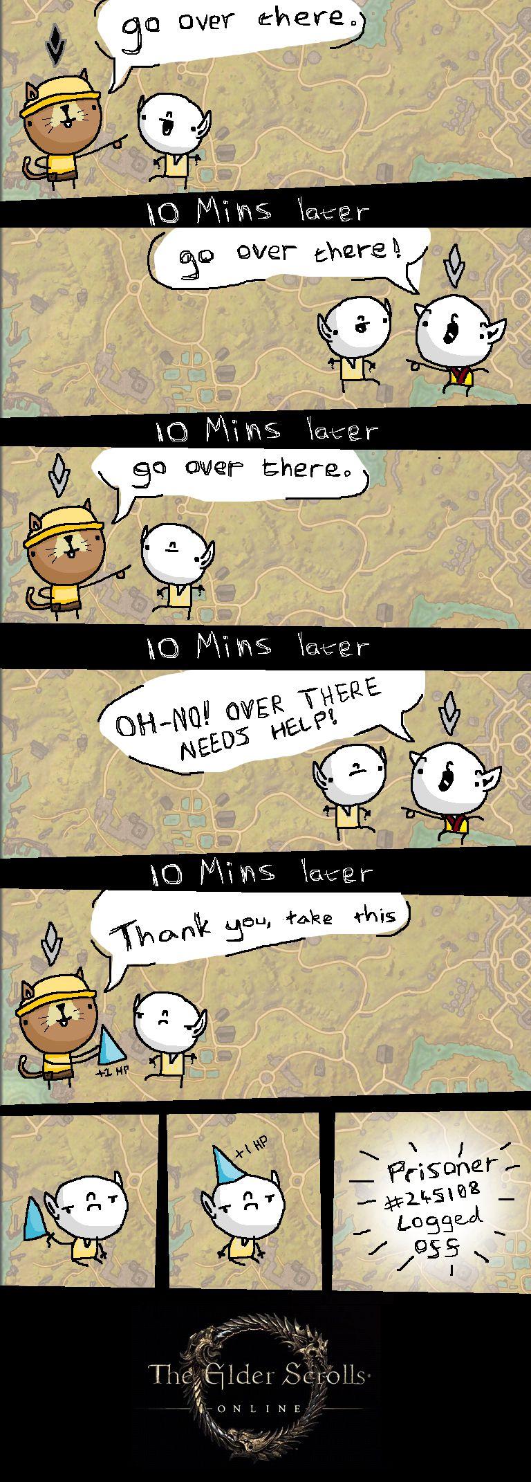 Elder Scrolls: Online - First Impressions