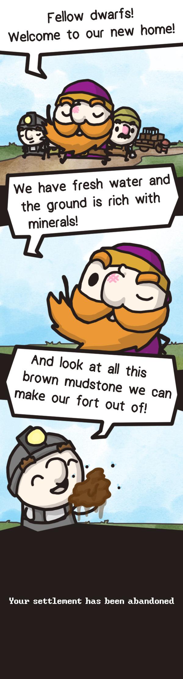 Dwarf Fortress - Mudstone