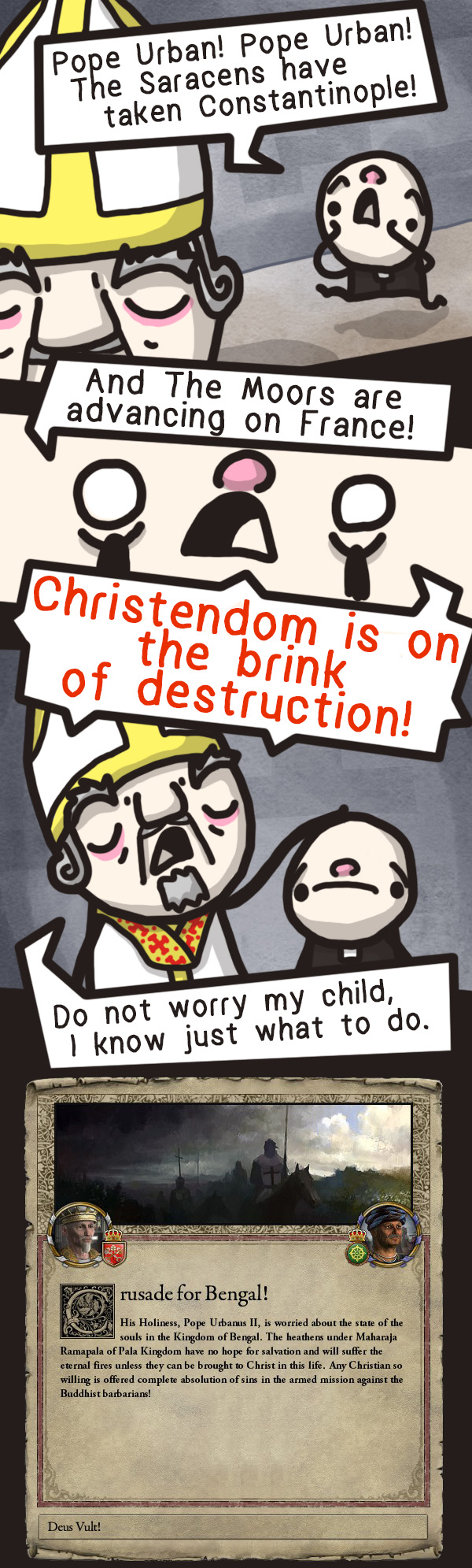 Crusader Kings 2 - The worst crusade