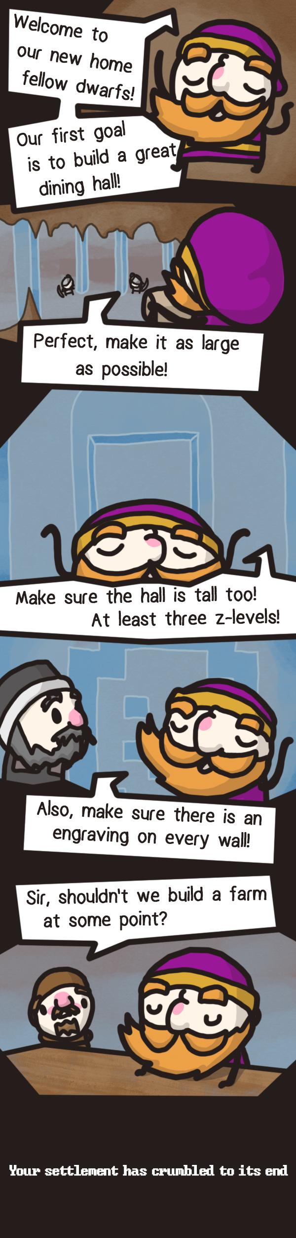 Dwarf Fortress - Downfall Hall