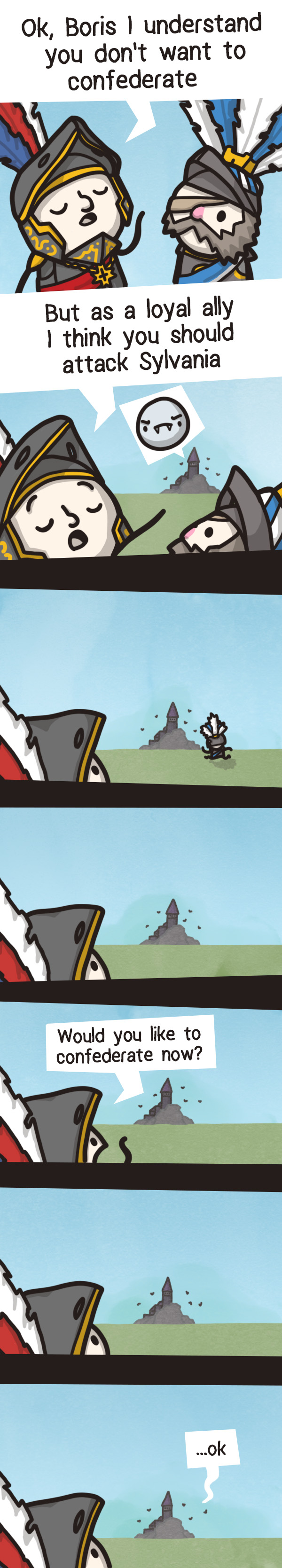 Warhammer Total War 2 - Confederating